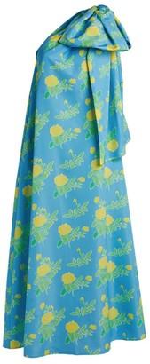 BERNADETTE Winnie One-Shoulder Maxi Dress