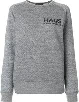Golden Goose Deluxe Brand logo print sweatshirt