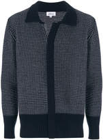 Brioni concealed front fastening cardigan