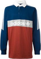 adidas nautical rugby polo shirt