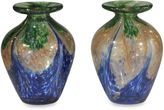 Dale Tiffany Dale TiffanyTM Mini Vase in Blue (Set of 2)