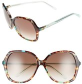 Kate Spade 'jonell' 58mm Oversized Sunglasses