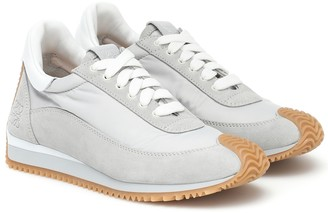 Loewe Dune suede sneakers