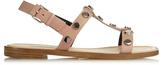 Balenciaga Stud embellished leather sandals