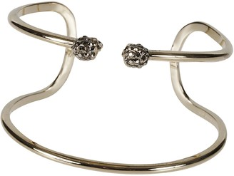 Alexander McQueen Double Thin Raw Bracelet