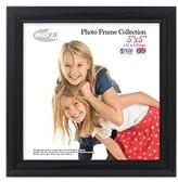 Inov-8 Inov8 British Made Traditional Picture/Photo Frame, Square 5x5-inch, Value Black