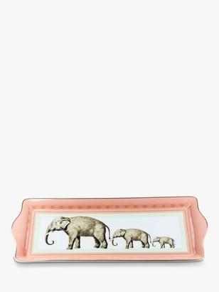 Cake Yvonne Ellen Elephant Fine China Tray, L34cm