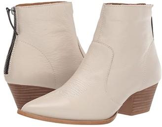 Dingo Klanton (Off-White Leather) Cowboy Boots