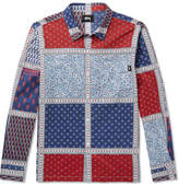 Stussy Patchwork Printed Cotton Shirt
