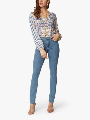 NYDJ Alina Skinny Ankle Jeans, Sanibel