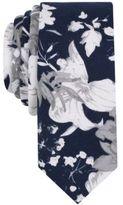 Original Penguin Men's Burr Floral Cotton Skinny Tie