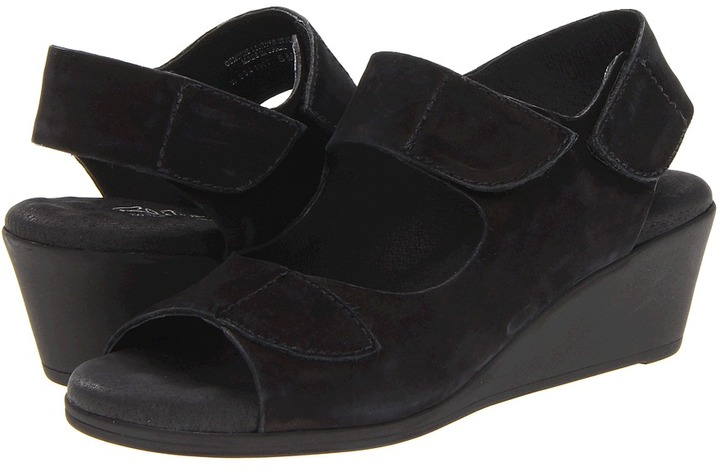 Walking Cradles Haute (Black Roughout Leather) - Footwear