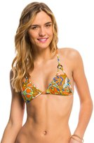 Volcom Faded Flowers Triangle Bikini Top 8139719