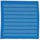 Turnbull & Asser Printed Silk Pocket Square w/ Tags