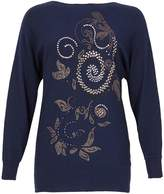 Izabel London Beaded Knit Jumper