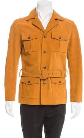 Maison Margiela Suede Utility Jacket