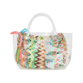 Pate De Sable Pate De SableMulti-Coloured Print Beach Bag