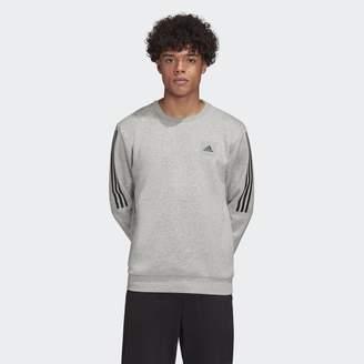 adidas Must Haves Fleece Crew Sweatshirt