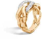 John Hardy Ring with Diamonds