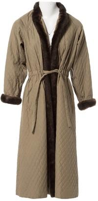 Givenchy Khaki Coat for Women Vintage