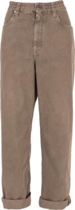 Brunello Cucinelli 5 Pocket Garment Dye Monili Jean