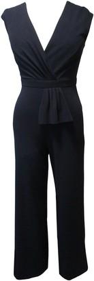 Sandra Darren Cap Sleeve Scuba Crepe Jumpsuit
