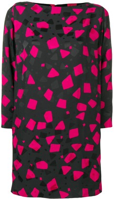 Marc Jacobs Geometric Print Dress