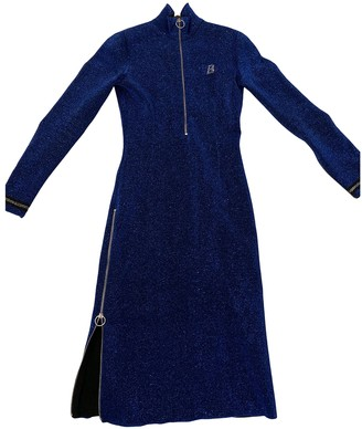 Bally Blue Wool Dress for Women