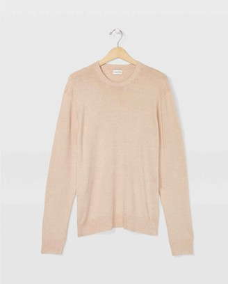Club Monaco Linen Crew Sweater