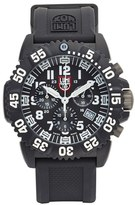 Luminox Men's 'Sea - Navy Seal Colormark' Chronograph Silicone Strap Watch, 43Mm