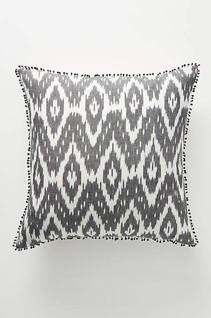 Anthropologie Ikat Pillow