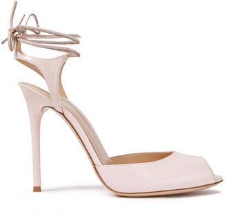 Gianvito Rossi Muse 115 Patent-leather Sandals