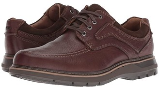 Clarks Un Ramble Lace (Mahogany Leather) Men's Lace up casual Shoes