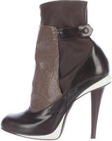 Fendi Stringray Jodhpur Booties
