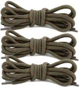 """DailyShoes Round Hiking Boot Shoelaces Strong Durable Stylish Shoe Laces (Great for Sport Shoes) 27"""" inch (69 cm)"""