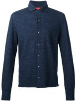 Isaia long sleeve polo shirt
