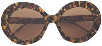 Thom Browne Eyewear oversized round sunglasses