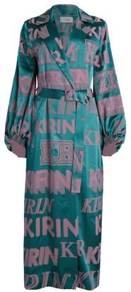 Kirin Logo Trench Dress