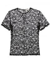 Nina Ricci floral lace T-shirt blouse
