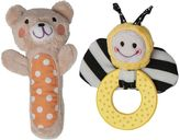 Boppy Bee & Bear Squeaker & Teether Set