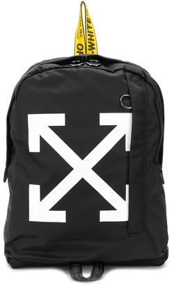 Off-White Diagonal Arrows print backpack