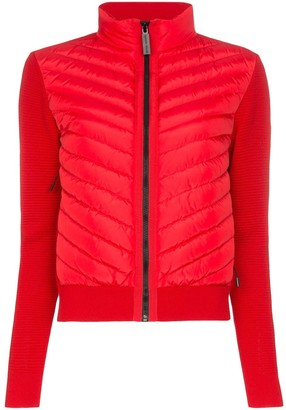 Canada Goose Hybridge knit padded jacket