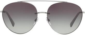 Valentino Eyewear gradient aviators