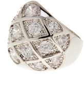 Ariella Collection Crystal Pave Pattern Ring