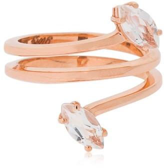 BEA BONGIASCA Giglio Gloriosa - Glory Rose Gold Ring