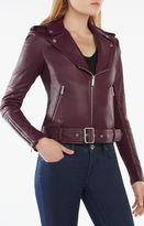 BCBGMAXAZRIA Miley Moto Jacket