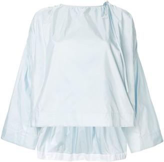 Calvin Klein wide sleeve top