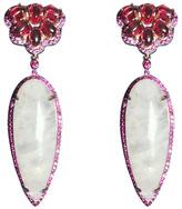 Vessel Pink Quartz Earrings