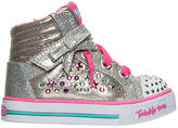 Skechers Girls' Toddler Twinkle Toes: Sparkle Glitz Casual Shoes