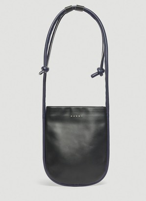 Marni Marcel Knot Flat Crossbody Bag